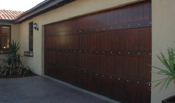 Wooden Garage roller door