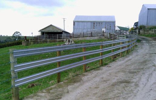 Farm with a house